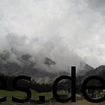 Ankunft beim VP 3. Die Zugspitze bekommt immer mehr dichtere Wolken. Copyright: Daniel Katzberg