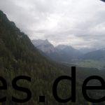 Mit der Gondel ins Tal. Dort liegt Ehrwald und meine Dusche und das Bett. Copyright: Daniel Katzberg
