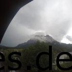 Der Vorabend und aus meinem Zimmer sah ich die Zugspitze. Copyright: Daniel Katzberg