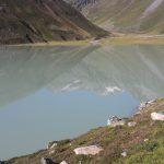 km 3,5 der 4. Etappe. Einmal auf knapp 2000 m Höhe um einen See laufen. Copyright: werun4fun.de