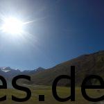 Was für ein Panorama am 4. Tag bei km 4,4. Dies entstand, als wir um den See liefen auf 2150 m Höhe. Copyright: Daniel Katzberg