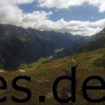 Und irgendwann bei km 38,5 sahen wir ins Pitztal und den langen Singletrail vor uns. Die Belohnung für das Erklimmen der Berge. Copyright: Daniel Katzberg