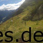 3. Etappe, Km 38,6. Der Blick ins Pitztal mit Aussicht auf den weiteren Weg. Copyright: Daniel Katzberg