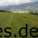 Das ist Brixen von oben. An dieser Stelle fehlen uns noch knapp 4 km bis ins Ziel. Nur noch 4 Kilometer. Copyright: Daniel Katzberg