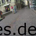 Wir waren in Brixen, nur noch gute 350 m vom Ziel entfernt. Wir hatten es fast geschafft. Wir durften nur noch bis in die Innenstadt einlaufen. Copyright: Daniel Katzberg