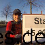 Ein Foto von mir und der Startlinie des 15km Laufes in Everswinkel. Copyright: Daniel Katzberg
