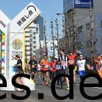 Bei Km 35,5 gab es den letzten Turning Point. Damit ging es nun endlich in Richtung des Ziels. (Photo by allsports.jp)
