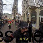Durch die Innenstadt von Utrecht laufen. Das war für mich eines der Highlights der Strecke. (Copyright: Daniel Katzberg)