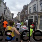 Kurz nach dem Rathaus lief ich auf den Marathon Paceläufer für 3:15 auf und überholte sie etwas später. (Copyright: Daniel Katzberg)