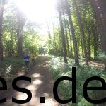 Ich bin bei Km 3,5 als mir einige Läufer der 12,5 km Runde entgegen kommen. (Copyright: Daniel Katzberg)