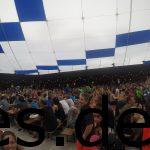 Pasta Party, Pre-Event, Streckenbriefing und Sicherheitshinweise führten zu einem sehr vollem Zelt. (Copyright: Daniel Katzberg)