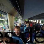 Der Bus ist voll und es kann los gehen nach Leutasch-Weidach in Österreich, wo unser Start ist. (Copyright: Daniel Katzberg)