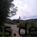 Bei Km 34 lief ich an Schloss Elmau vorbei. (Copyright: Daniel Katzberg)