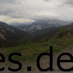 Bei der VP 9 angekommen. Links den Anstieg mit Wald war eben jener den ich von unten her erklommen habe. (Copyright: Daniel Katzberg)