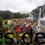 Ein Blick über das Startfeld des Biggesee Marathons. (Copyright: Daniel Katzberg)