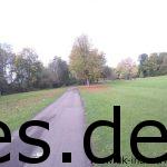 Dies ist der Eingang in den Kurpark von Bad Mergentheim, wo das Km 50 Ziel ist. (Copyright: Daniel Katzberg)