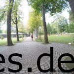 Ja der Kurpark in Bad Mergentheim war wirklich groß. (Copyright: Daniel Katzberg)
