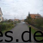 Hier bei Km 70 ist ein Kirchturm in der Ferne. Dieser markiert das Ziel in Taubersbischofsheim (Km 71). (Copyright: Daniel Katzberg)