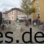 Das Ziel bei Km 71 in Tauberbischofsheim. (Copyright: Daniel Katzberg)