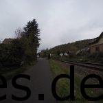 Bei Km 098,5 ist die Burg zu Wertheim plötzlich in Sicht. Das Ziel rückt immer näher. Die Botschaft ist fast überbracht! (Copyright: Daniel Katzberg)