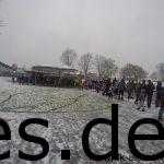 Es ist vor dem Start und es viel los, trotz oder wegen dem Schnee?! (Copyright: Daniel Katzberg)
