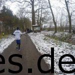 Nach 5,5 km und im Wald gibt es den einzigen Verpflegungspunkt auf der Strecke. (Copyright: Daniel Katzberg)