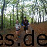 Teutolauf 2017, 23,5 Km. Ich pace Sina zu ihrer Zeit. (Copyright: Daniel Katzberg)