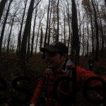 Km 24: Ein Selfie auf dem Singletrail von mir. (Copyright: Daniel Katzberg)