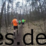 Daniel von den Sudbrackläufern zieht vorne Weg. Christian werde ich kurz nach diesem Bild erreichen bis er mir kurz danach davon läuft. (Copyright: Daniel Katzberg)