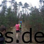Auf der dritten Klippe gehe ich kurz und mache dabei dieses Foto, wie sich alle hoch laufen. (Copyright: Daniel Katzberg)