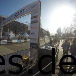 Dieses Bild entstand kurz nach dem Start des Marathons. Die Startblöcle sind aktuell noch leer. (Copyright: Daniel Katzberg)