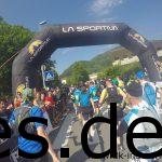 Der Start des Lichtenstein Trailmarathons 2018. (Copyright: Daniel Katzberg)