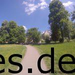Km 15: Ein Verpflegungspunkt? Am Schloss? Welch positive Überraschung! (Copyright: Daniel Katzberg)