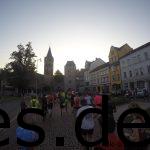 Km 0,5: Wir laufen aus der Stadt Eisenach hinaus. (Copyright: Daniel Katzberg)