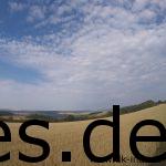 Das schöne an dieser Strecke zeigt zum Beispiel Km 16: Weite, schöne Aussichten. (Copyright: Daniel Katzberg)